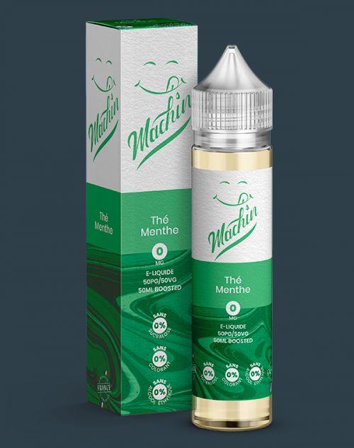 Grossiste e-liquide Thé Menthe 50 ml