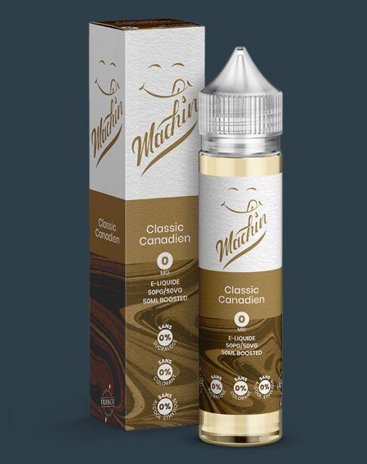Wholesale eliquid Classic Canadien 50 ml