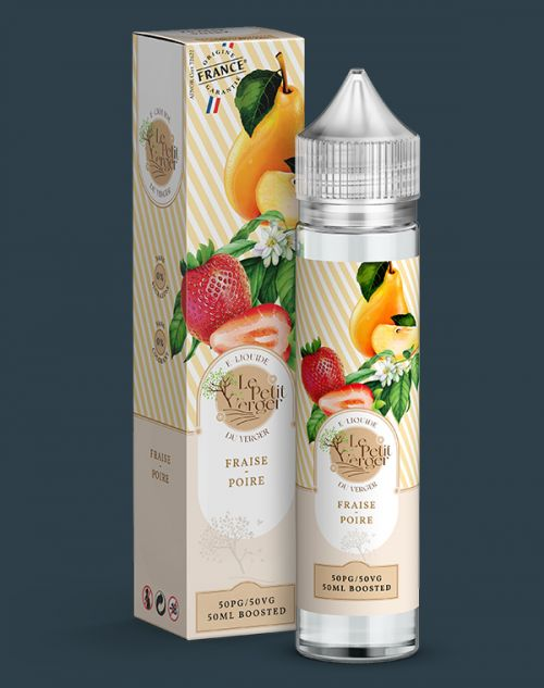Grossiste e-liquide Fraise - Poire 50 ml
