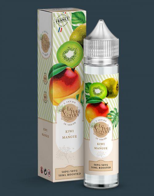 Grossiste e-liquide Kiwi - Mangue 50 ml
