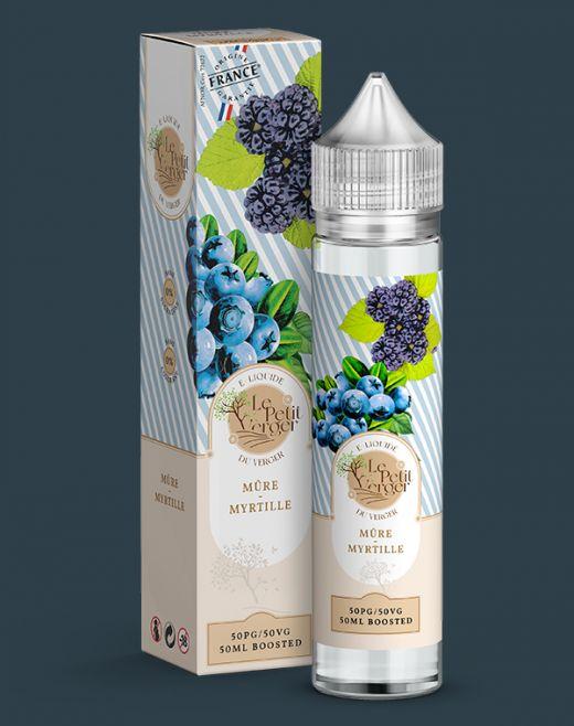 Wholesale eliquid Mûre - Myrtille 50 ml