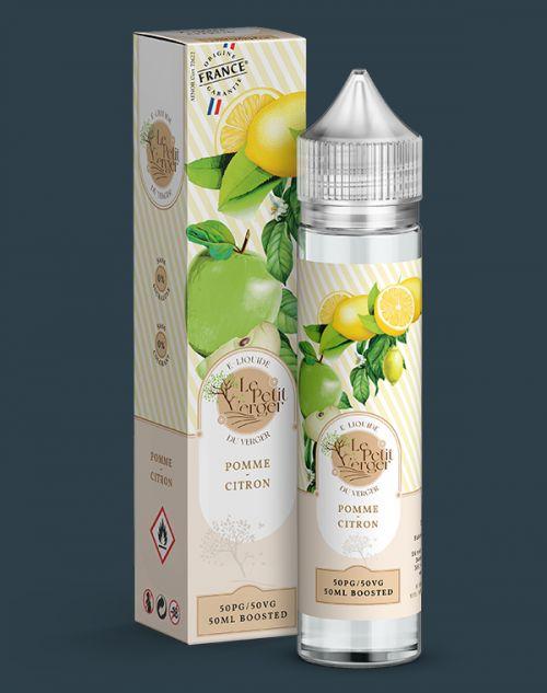 Grossiste e-liquide Pomme - Citron 50 ml