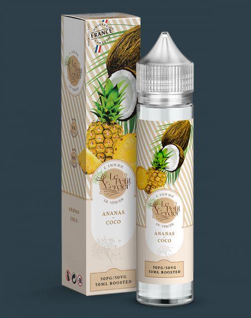 Grossiste e-liquide Ananas - Coco 50 ml